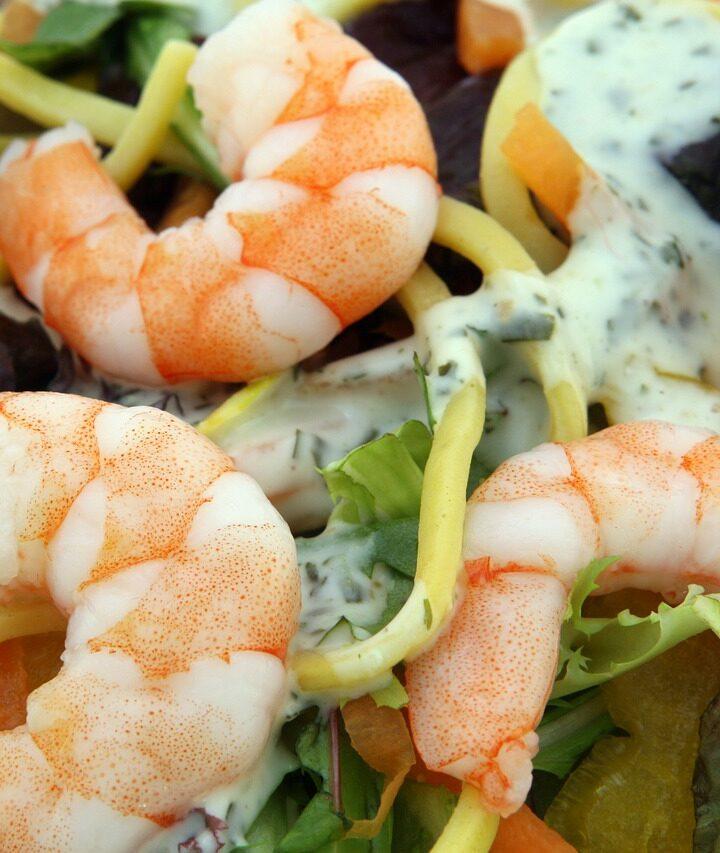Fokhagymás garnélarák (Γαρίδες με σάλτσα σκόρδου)