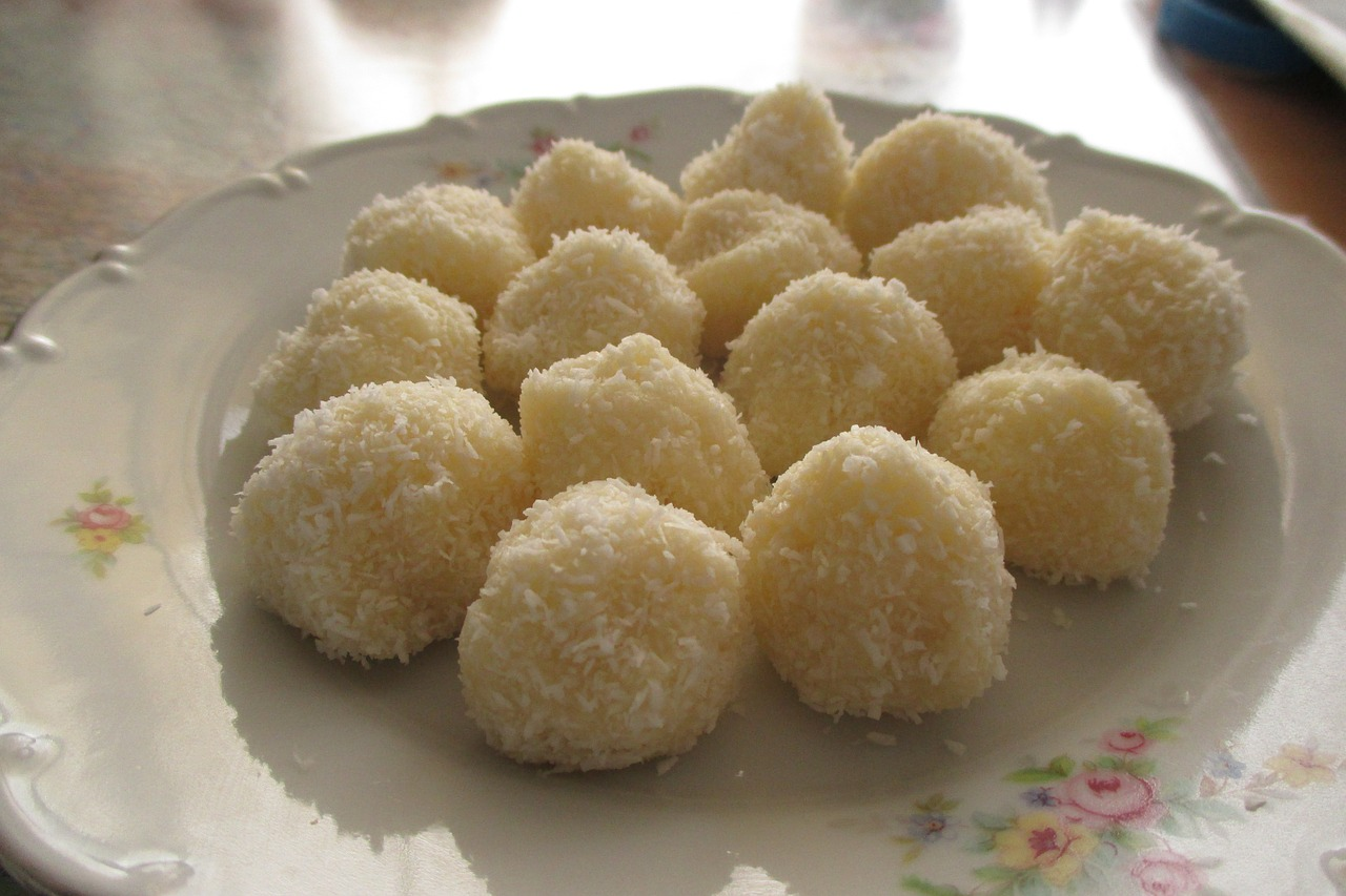 Raffaello golyó recept