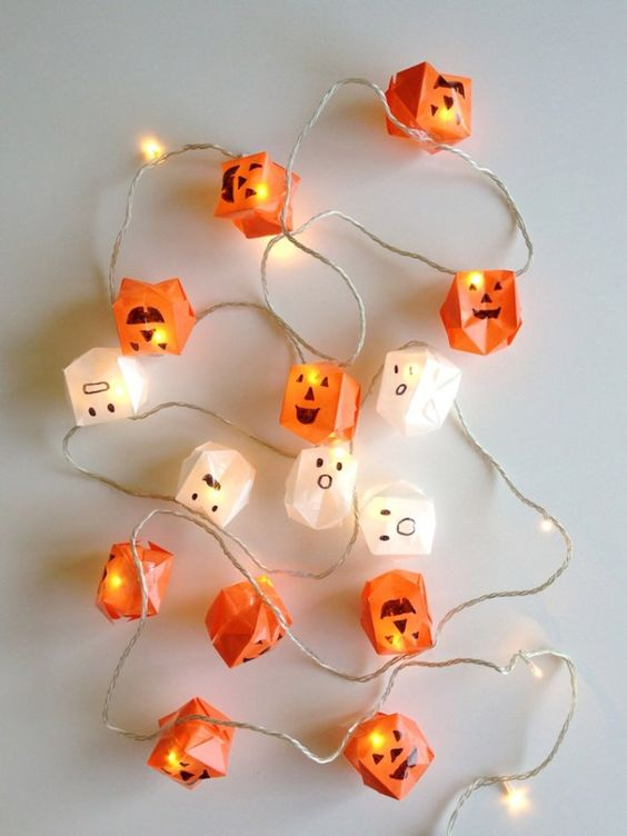 Halloween-i égősor