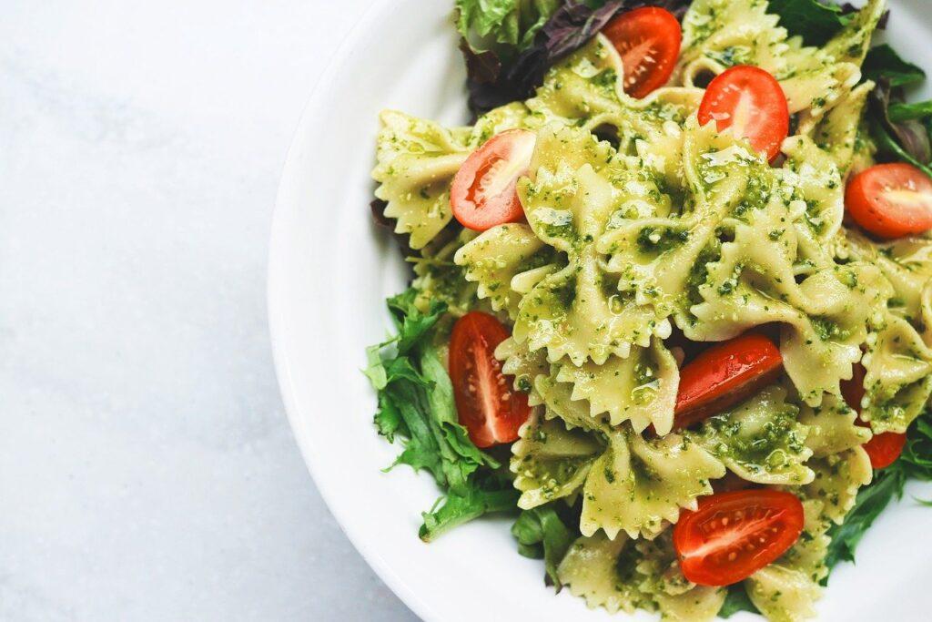 Pesto-s tészta