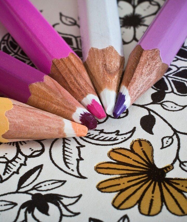 A felnőtt színezők 7 pozitív hatása